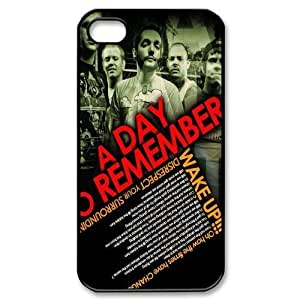 Customize Famous Rock Band A Day To Remember Back Case for iphone4 4S JN4S-1729 Kimberly Kurzendoerfer