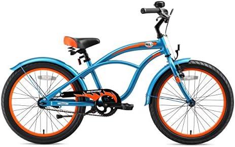Bici 24 Pulgadas con Frenos 24 Edici/ón Cruiser BIKESTAR Bicicleta Infantil para ni/ños y ni/ñas a Partir de 10 a/ños
