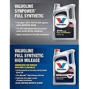 Valvoline 20W-50 SynPower Full Synthetic Motor Oil - 1qt (Case of 6) (VV945-6PK)