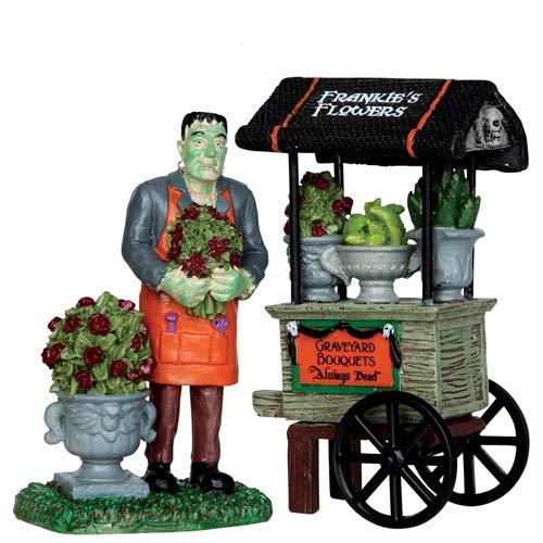 Lemax Spooky Town Graveyard Bouquets, Set of 2 #32114 -