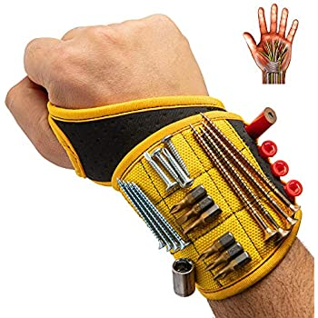 Magnetic Wrist Band Tool Belt Cuff Bracelet Nail Screw Hammer Set Useful Tool Ne