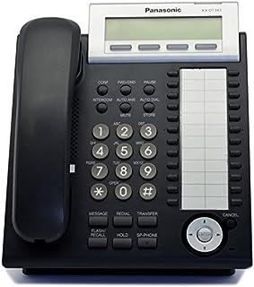 amazon com panasonic digital telephone kx dt343 b corded rh amazon com panasonic kx dt343 manual pdf panasonic kx dt343 manual troubleshooting