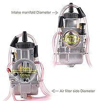 CALTRIC 2 CARBURETOR INTAKE BOOT HOLDER FOR Kawasaki 16065-0116 16065-0007