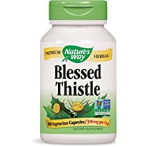 Nature's Way Blessed Thistle Herb COG 100 Count (Pack of 2)