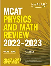 MCAT Physics and Math Review 2022-2023: Online + Book
