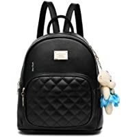Backpack for women Stylish | women backpack latest | school bag for girls under | College Bag for women (Black) Star Dust