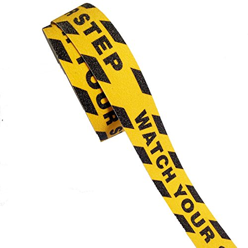 - Black Yellow Anti Slip Tape Printed