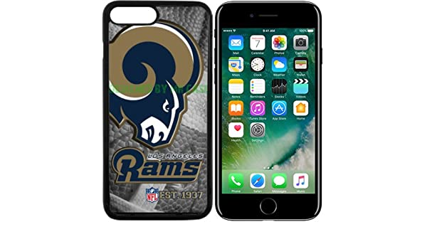 Rams Los Angeles Football New Black Apple iPhone 7 Plus Case By Mr Case