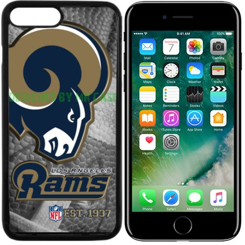 Rams Los Angeles Football New Black Apple iPhone 7 Case By Mr Case by Mr Case