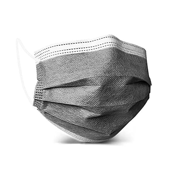 Vandelay-4-Ply-Face-Mask-Activated-Carbon-Melt-Blown-BFE-PFE–99-UV-Sterilized-FDE-CE-SITRA-k-Grey-Without-Valve-50-Masks-Unisex