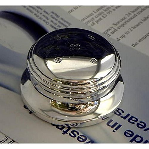 Sterling Silver Paperweight with Feature Hallmark