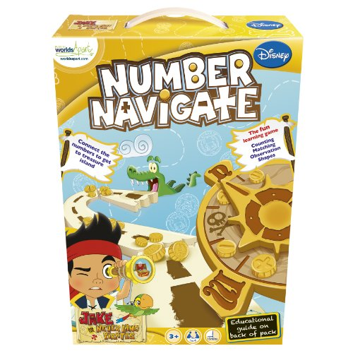 Disney Junior Jake and The Neverland Pirates Number -
