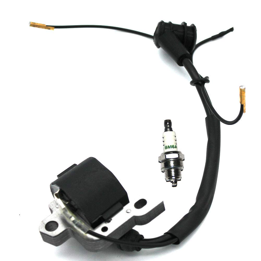 Ignition Coil With Spark Plug For STIHL 024 026 028 029 034 036 038 039 044 MS240 MS260 MS290 MS310 MS340 MS360 MS380 MS381 MS390 MS440 Chainsaw MPN 0000 400 1300