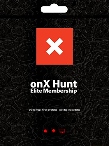 ONX Hunt Elite: Digital Map Membership for Phone, Tablet, and Computer - Color Coded Land Ownership - 24k Topo - Hunting Specific Data - Updates Hunt -