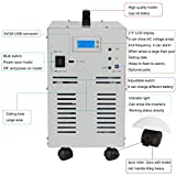 HomeBest 3000 watt(Peak 9000w) Pure Sine Wave Off Grid Power Inverter 80A Battery Charge Function DC12V to AC110v 60Hz power inverter and Dual AC Outlets & USB Port And LCD Display