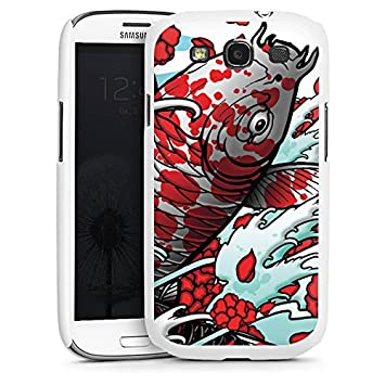 Carcasa Samsung Galaxy S2 KIO Mai Koi Art, plástico, Hard ...