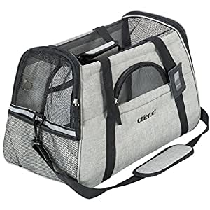 Amazon Com Ollieroo Pets Travel Carrier Airline Cat