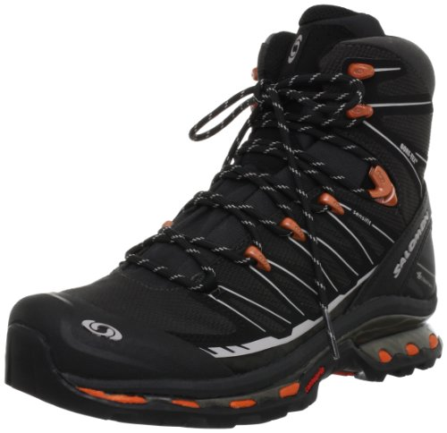 SalomonCosmic 4D 2 GTX - zapatillas de trekking y senderismo de media caña Hombre Negro - Schwarz (Asphalt/Black/Tomato  Red)