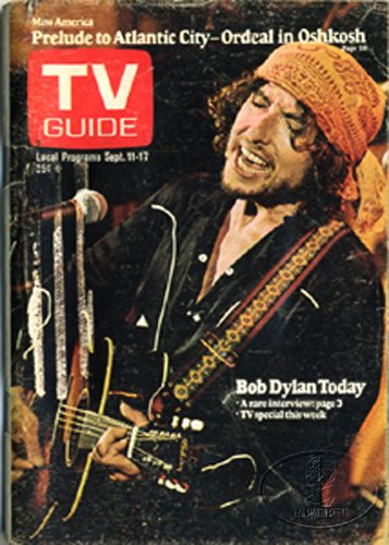 1976 Tv Guide - TV Guide September 11-17, 1976 (Bob Dylan Today: A Rare Interview; Miss America: Prelude to Atlantic City-Ordeal in Oshkosh, Volume 24, No. 37, Issue #1224)