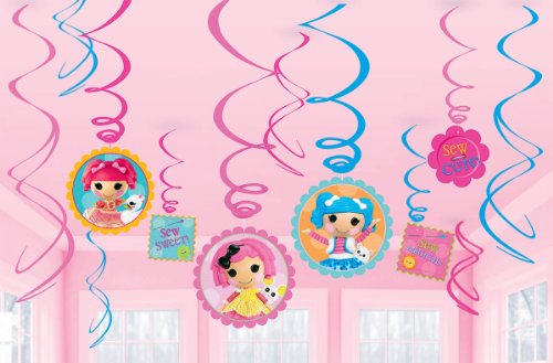 Swirl Decorations | Lalaloopsy Collection | Party Accessory]()