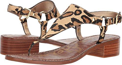 Sam Edelman Women's Jude Heeled Sandal New Nude Leopard 6 M US