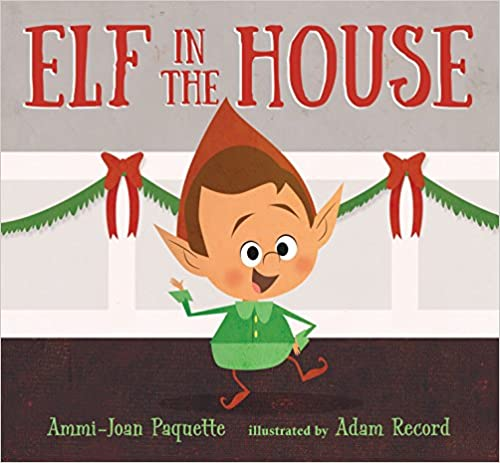 Elf in the House Book Cover