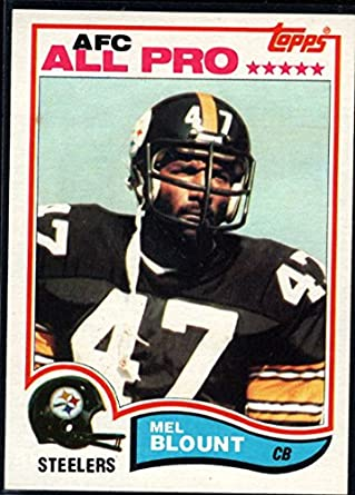 buy online 7b6fa a35ff Amazon.com: Football NFL 1982 Topps #203 Mel Blount Steelers ...