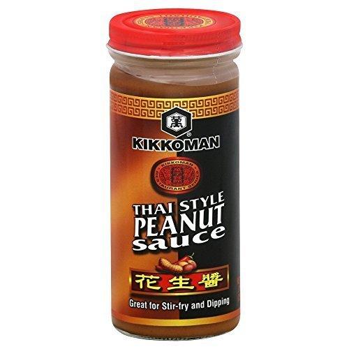 (Kikkoman Thai Style Peanut Sauce, 9 Ounce (Pack of 6) by Kikkoman)