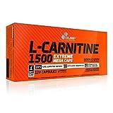 Olimp L-Carnitine 1500 Extreme Mega Caps 120 Kapseln, 1er Pack (1 x 199,2 g)