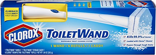 Price comparison product image Clorox ToiletWand Disposable Toilet Cleaning System ( Refills 6 - 1.04 oz  )