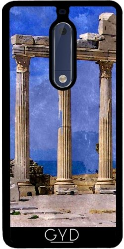 Funda de silicona para Nokia 5 - Ruinas De Antalya by Helsch1957
