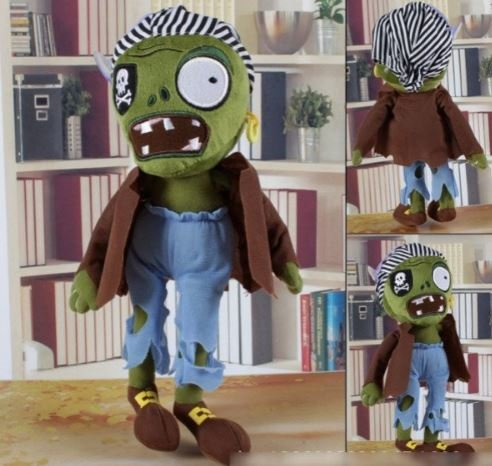 NEW ARRIVAL 30CM 12'' Plants vs Zombies Soft Plush Toy Doll Game Figure Statue Baby Toy for Children Gifts #8 by (Zombie Cartoon Characters)