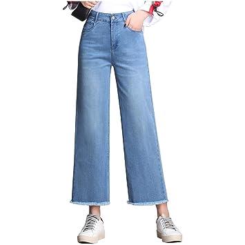 Cubrir los pantalones vaqueros rectos Las mujeres sueltan ...