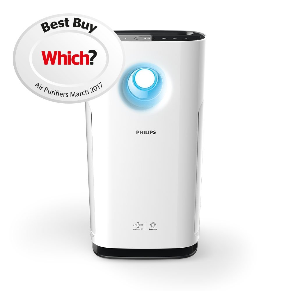 Philips AC3256/30 Air Purifier, Anti-Allergen with NanoProtect S3 Filter:  Amazon.co.uk: Kitchen & Home