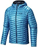 Mountain Hardwear Ghost Whisper Hooded Down Jacket - Men's Dark Compass Small