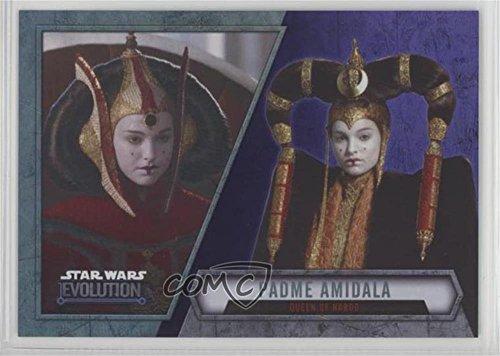 Padme Amidala (Trading Card) 2016 Topps Star Wars Evolution - [Base] - Purple Lightsaber #13 ()