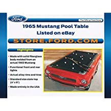 2012 Ford eBay Store ORIGINAL Factory Postcard 1965 Mustang Pool Table