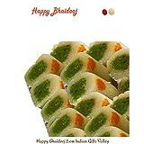 Bhai dooj Sweets -Kaju Roll with Roli Tika