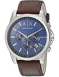 Armani Exchange AX2501 Watch, Men, Brown Leather
