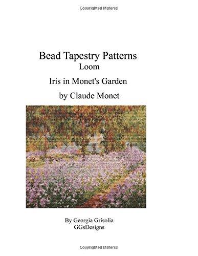 Bead Tapestry Patterns Loom Iris in Monet's Garden