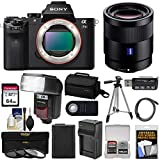 Sony Alpha A7 II Digital Camera Body with Vario-Tessar T FE 24-70mm f/4 ZA OSS Zoom Lens + 64GB Card + Battery & Charger + Kit