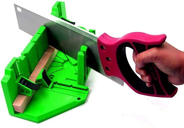 Caja de ingletes Mitre caja protectora de plástico Saw Gabinete ...