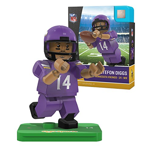 Nfl Minnesota Vikings Gen4 Limited Edition Stefon Diggs Mini Figure  Small  White