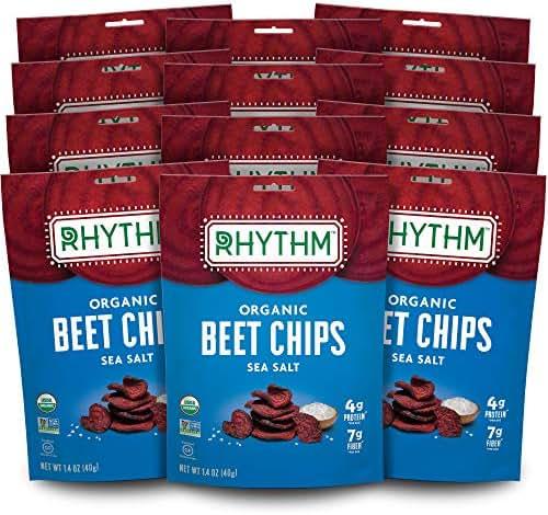 Veggie & Grain Chips: Rhythm Superfoods Beet Chips