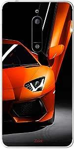 Zoot Orange Aventador Designer Phone Cover for Nokia 5