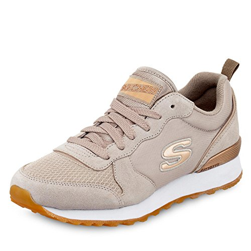 Retroscena Da Donna Di Skechers E Sneaker Gurl 85-goldn Beige (tpe)