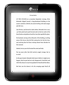 """ICARUS Illumina E654BK 6"""" e-reader with Carta screen, front light, Android and Google PlayStore - Black"""