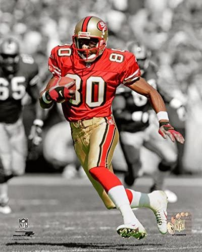 Amazon Com San Francisco 49ers Jerry Rice 8x10 Action Photo Picture Sports Collectibles