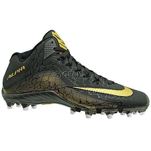 Nike Alpha Pro 2 3/4 Td Pp 725223-072 Chaussures De Football Pour Hommes 9