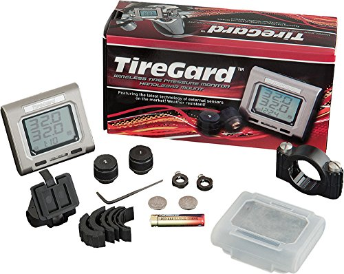 (Show Chrome Accessories TireGard Handlebar Mounted Tire Pressure Monitoring System)